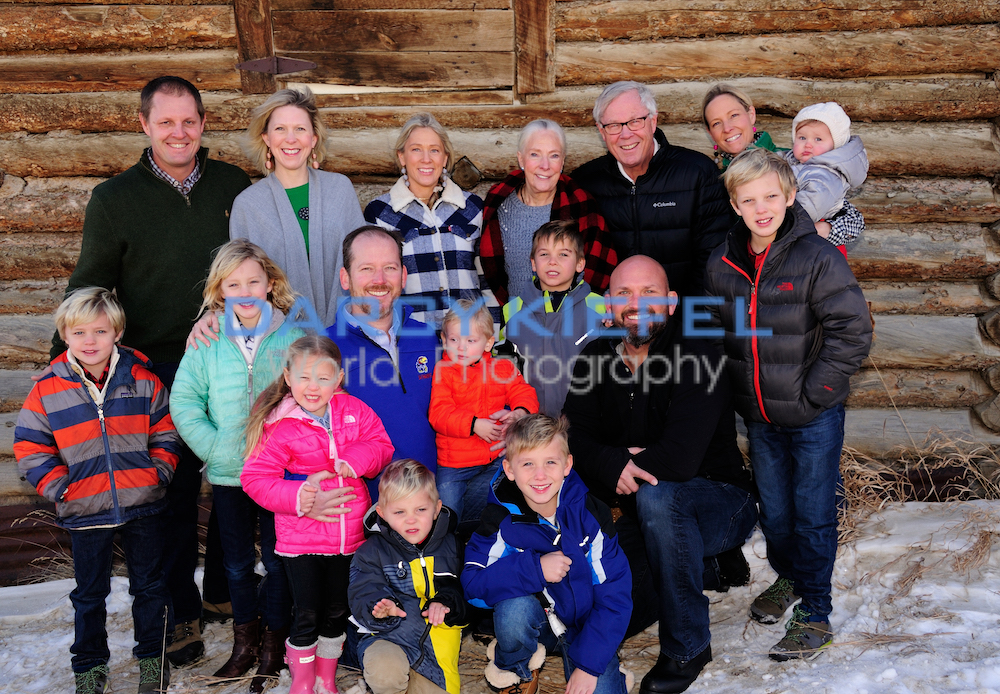 Kiefel Photography Winter Park Family Portraits at Snow Mountain Ranch