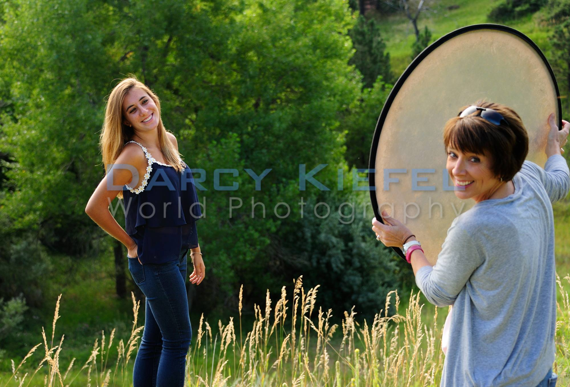 beautiful outdoor senior portrait