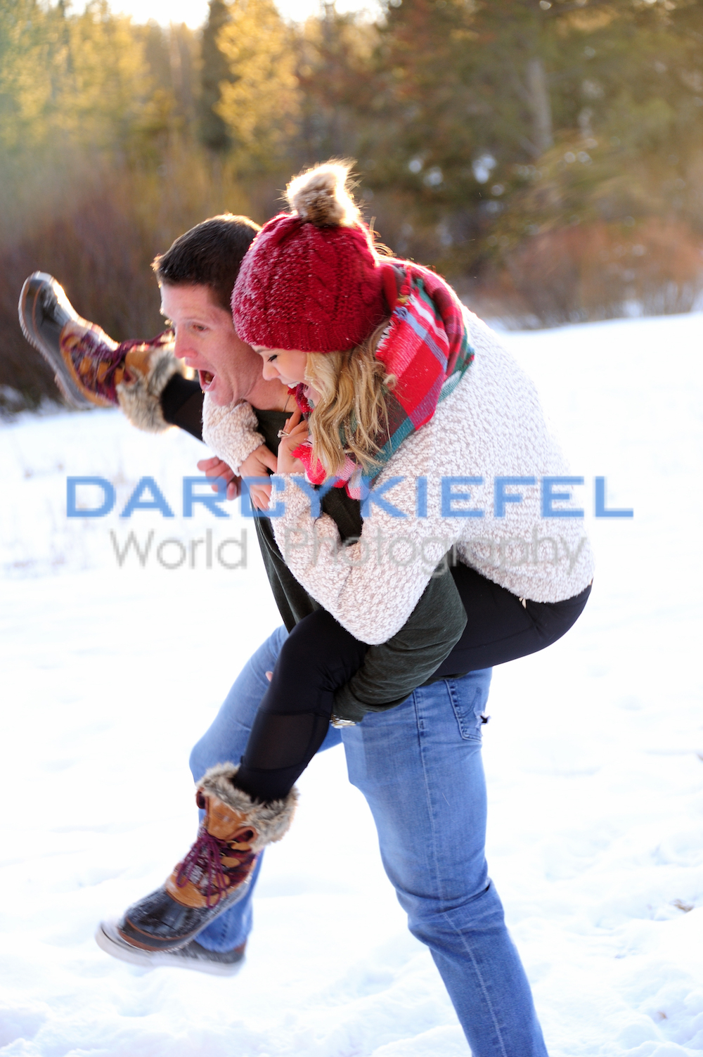 Winter Park Devil Thumb Ranch Proposal and Engagement with Kiefel Photo