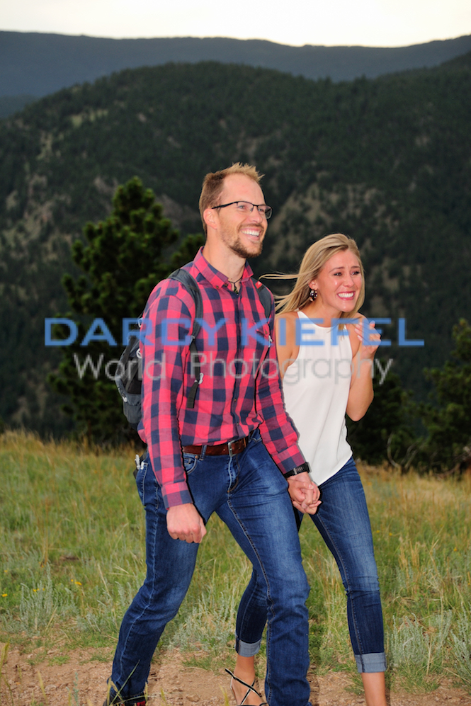 Kiefel Photo Mountain Proposal, She Said YES