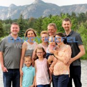 Family Portraits in the Colorado Mountains