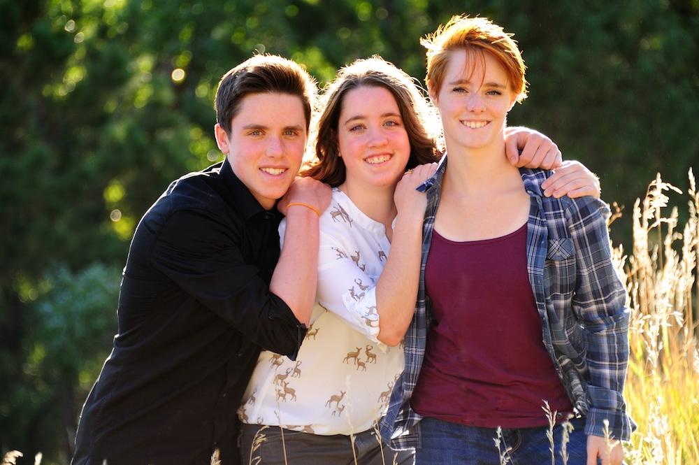 Triplets Legacy Senior Portraits