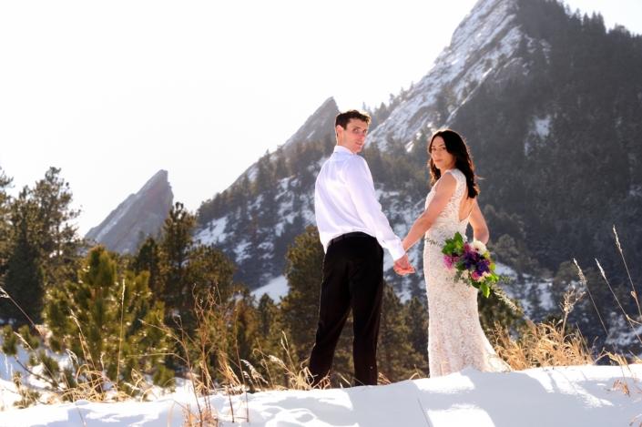 Boulder Winter Wedding Celebration